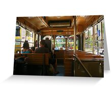 FREE TROLLEY!!! Greeting Card