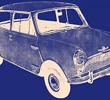 morris mini saloon by kaleidoscopecreation