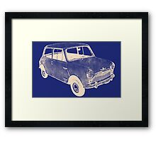 morris mini saloon Framed Print