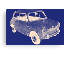 morris mini saloon Canvas Print