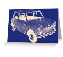 morris mini saloon Greeting Card