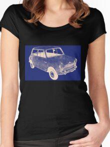 morris mini saloon Women's Fitted Scoop T-Shirt