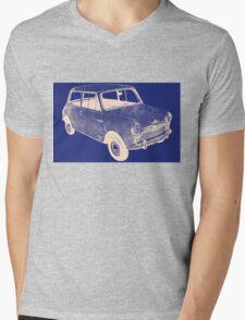 morris mini saloon Mens V-Neck T-Shirt