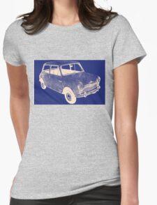 morris mini saloon Womens Fitted T-Shirt