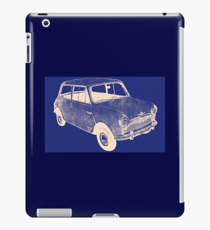 morris mini saloon iPad Case/Skin