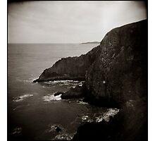 { sea vs land } Photographic Print