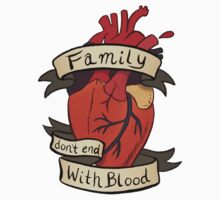 Supernatural - Family Don't End With Blood by ackimakescomics
