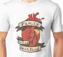 Supernatural - Family Don't End With Blood Unisex T-Shirt