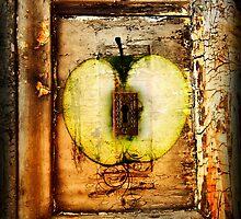 Apple Keyhole Grunge by shaunaknight