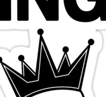 Think Kings standard tee Sticker