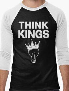 Think Kings standard tee invert Men's Baseball ¾ T-Shirt