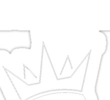 Think Kings standard tee invert Sticker
