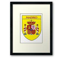 Madrid Shield of Spain II  Framed Print