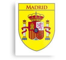 Madrid Shield of Spain II  Metal Print