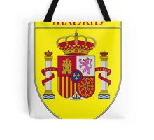 Madrid Shield of Spain II  Tote Bag