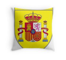 Madrid Shield of Spain II  Throw Pillow