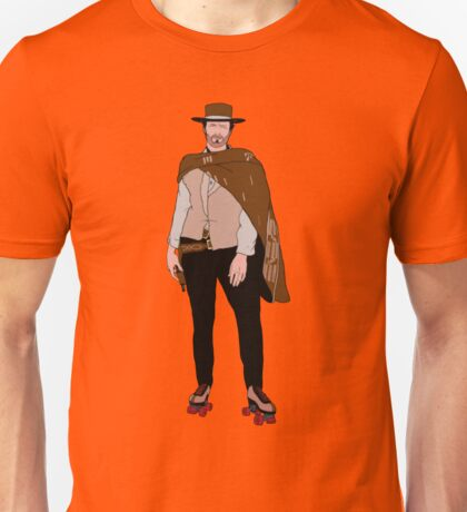 Clint Eastwood hits the roller rink  Unisex T-Shirt