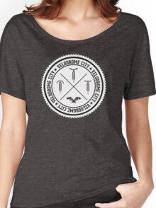 Velodrome City V3 Badge 01 Women's Relaxed Fit T-Shirt