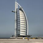 The Burj Al Arab ( 3 ) by Larry Lingard-Davis