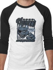 M.F Jaguars Blue Men's Baseball ¾ T-Shirt