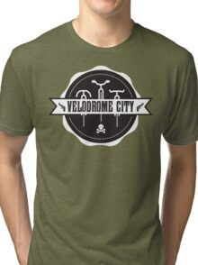 Velodrome City V3 Badge 03 Tri-blend T-Shirt