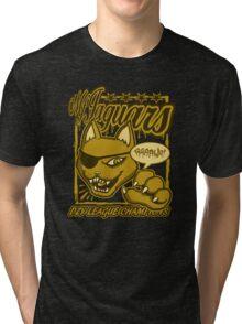 M.F Jaguars Yellow Tri-blend T-Shirt