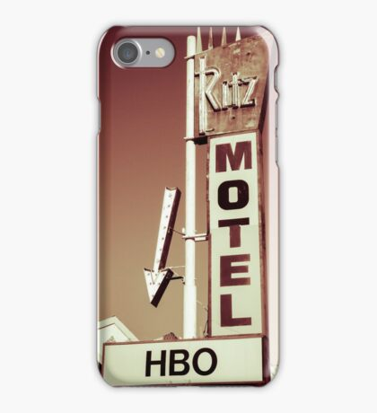 Ritz Motel iPhone Case/Skin