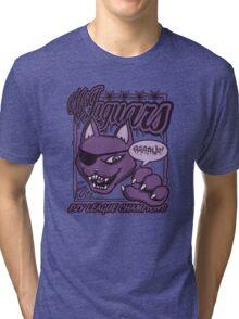 M.F Jaguars Purple Tri-blend T-Shirt