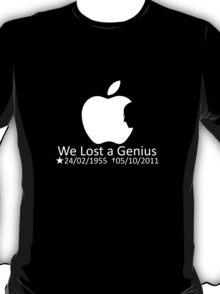 Tribute - Steven/Steve Jobs R.I.P ( #ThankYouSteve #iSad) T-Shirt