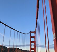 Golden Gate Bridge California artistic print by artisticattitud