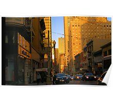 Sutter Street Downtown Poster
