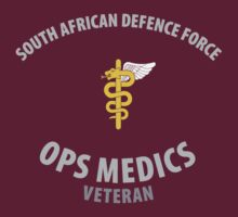 South African Defence Force Ops Medics Veteran  by civvies4vets