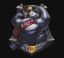 League of Legends - Ultra Rapid Fire Logo by TetrAggressive