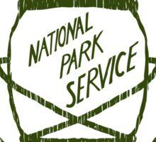 Yellowstone Camping Sticker