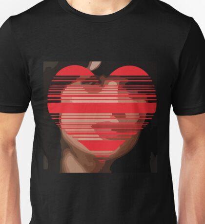 Zooey Deschanel Heart Vector Unisex T-Shirt