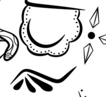 Jigglypuff de los Muertos | Pokemon & Day of The Dead Mashup Sticker