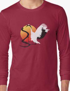 The Karate Kid: The Final Duel [Crane Vs. Cobra] Long Sleeve T-Shirt