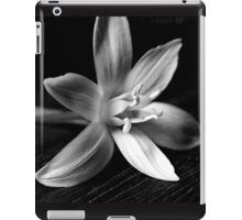 STAR OF BETHLEHEM (BLACK AND WHITE) iPad Case/Skin