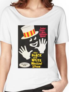 Black and White Minstrel show Women's Relaxed Fit T-Shirt