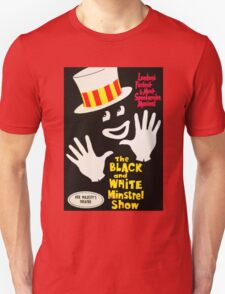 Black and White Minstrel show Unisex T-Shirt