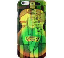 5161 Guitar with Face iPhone Case/Skin