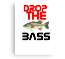 Drop The Bass Canvas Print