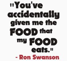 Swanson - The Food That My Food Eats by poorlydesigns