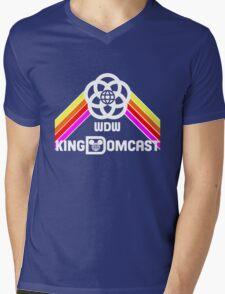 Kingdomcast Future World Logo Mens V-Neck T-Shirt
