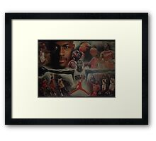 Air Jordan wings  Framed Print