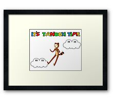 It's Tanooki Time Framed Print