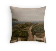 Mendocino Headlands Throw Pillow