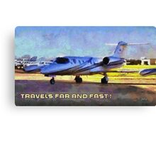 Travels far and fast Canvas Print