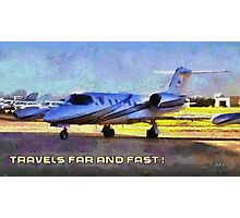 Travels far and fast Photographic Print