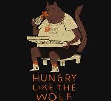hungry like the wolf(black) Unisex T-Shirt